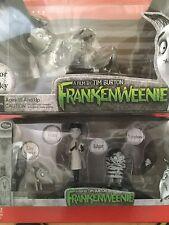 Frankenweenie figures Sparky Persephone Victor Edgar Halloween Tim Burton Disney
