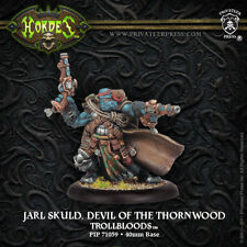 Hordes: Trollblood Jarl Skuld, Devil of the Thornwood  PIP 71059 NEW