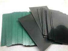 Lenayuyu 60pcs DECK PROTECTOR Card Sleeves 62mm*89mm greenblack and Glossy