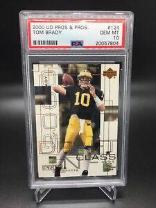 Tom Brady 2000 U.D. Pros and Prospects PSA 10 (New PSA Case)