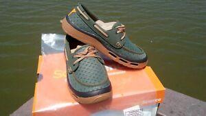Men's Soft Science Fin 2.0 Fishing Boat Shoes Green Shoes sz. 10