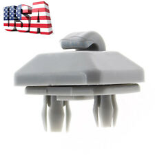 NEW Grey Sun Visor Clip for Audi A3 S3 A4 S4 B6 B7 B8 A5 S5 TT RS4 RS5 Q3 Q5