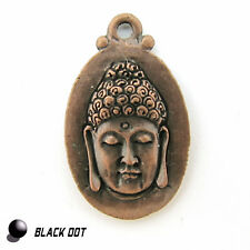 Buddha Schmuck Anhänger Armband Bettelamulett Metall Matt Kupfer 28mmx17mm