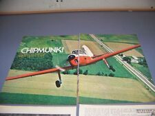 VINTAGE..DE HAVILLAND CHIPMUNK HISTORY..HISTORY/PHOTOS/DETAILS..RARE! (733L)