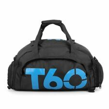 Waterproof GYM Sports Bag Backpack Travel Fitness Shoes Duffle Shoulder Handbag