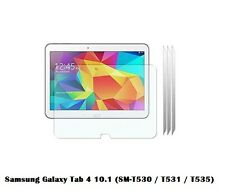 3 x Clear Screen Protect for Samsung Galaxy Tab 4 10.1 (SM-T530 / T531 / T535)
