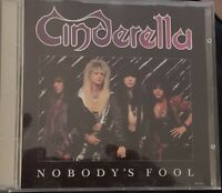 Cinderella - Nobody's Fool CD-Video - 1988 Made in Japan- FREE SHIPPING !!!