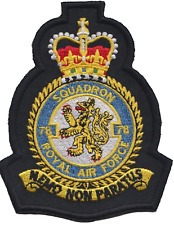 No. 78 Squadron Royal Air Force RAF Crest MOD Embroidered Patch