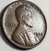 1928-D Lincoln Cent Penny Wheat Back US Copper Coin *