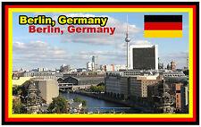 BERLIN, GERMANY - SOUVENIR NOVELTY FRIDGE MAGNET -  BRAND NEW - GIFT