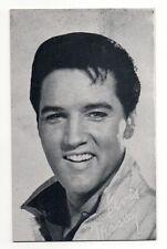 Elvis Presley 1960's Bio Back Exhibit Arcade Card