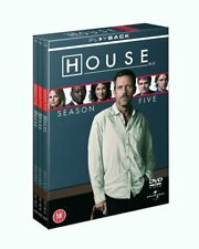 HOUSE MD COMPLETE SERIES 5 DVD Hugh Laurie Fifth 5th Season Five UK Relea NEW R2