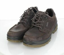 63-40 NEW $160 Men's Sz 10 M Ecco Rugged Track GTX Moc Tie Leather Sneakers