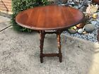 Vintage Pennsylvania House Drop Leaf End Table Solid Cherry Oval