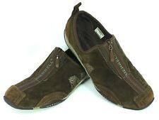 MERRELL Barrado Women's Size 7 Brown Suede Zip Comfort Sneakers Casual Shoes