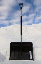 Schneeschaufel Schneeschieber Schneeräumer mit Alustiel 50 cm breit Alutube