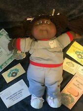 Cabbage Patch Kids doll 1978 / 1982 girl African American Black exercise outfit