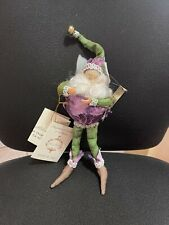 "Collectible Mark Roberts Purple Cabbage Fairy 51-61630 #78 of 2,000 - 9"" Nib"