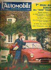 L'AUTOMOBILE 146 1958 OPEL REKORD P1 PORSCHE 356 A 1600 S 24H DU MANS FREGATE