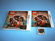 Lego Pirates of the Caribbean (Nintendo 3DS) XL 2DS Game w/Case & Manual
