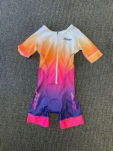 ZOOT - Women's Tri LTD SS Racesuit - Sunset - Medium