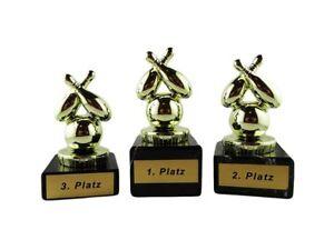 Bowling-Pokale (Einzelpokal oder 3er-Serie) P040