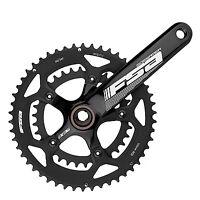 FSA Gossamer Road Bike Crankset Compact 386EVO 50/34t 175mm No BB Black