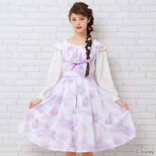 Disney 2018 Rapunzel Castle patter dress for ladies secret honey