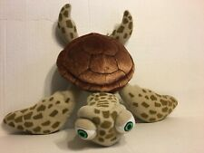 "Disney Parks Finding Nemo Turtle  14"" Plush Stuffed Animal"