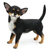 Chihuahua Black and Tan Dog Ornament Figurine Gift Boxed