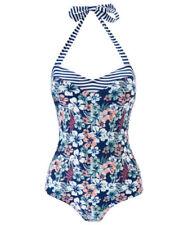 Joe Browns Womens Flamingo Print Halter Neck Swimsuit