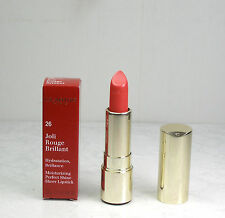 Clarins Joli Rouge Brillant Moisturizi Perfect Shine Sheer  Lipstick 26 Hibiscus