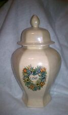 Adult Flower,Heart Love Decal Urn cremation/memorial/Ashes made in the USA