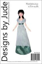 """Regency Dress Pattern for 15.75"""" City GirlsTonner"""
