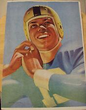 """VTG WWII Era ca. 1945 Football Program~""""BERKELEY VS HAYWARD HIGH""""~"""