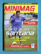 MINIMAG 2008-2009 N. 067 - MARIO ALBERTO SANTANA - FIORENTINA