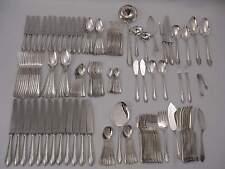 Edles barockes Silberbesteck 12 Personen 164 Teile Echtsilber 800er - 8 KG