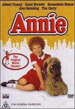 ANNIE (Albert FINNEY Carol BURNETT Tim CURRY) Comedy Family Film DVD Region 4