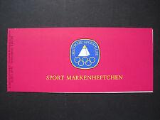 Berlin Sport Markenheft MiNr. 596 postfrisch **  (H 824)