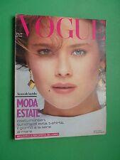 VOGUE Italia Maggio 1981 May MODA ESTATE DOMINIQUE SANDA Laura Biagiotti RARE!!