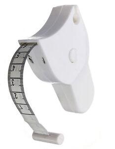 UK Warrior Body Fat Tape Measure Mass Workout Fitness Gym Waist Weight Loss Fat