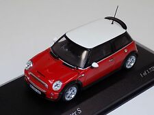 1/43 Minichamps Mini Cooper S from 2003 in red