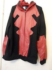 Marvel Deadpool Cosplay Full Front Zipper Hoodie sweat jacket