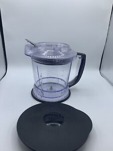 Replacement Pitcher 5 Cup 40 Oz / Lids Grey Ninja Master Prep QB900B Blender