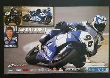 Vintage Poster 2000 Aaron Gobert YZF-R1 Graves Yamaha Racing Superbike YZF-R6