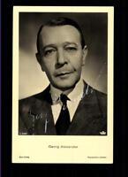 Georg Alexander ROSS Autogrammkarte Original Signiert ## BC 54986