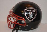 Schutt DNA Recruit Football Helmet Chin Strap Face mask  Small Las Vegas Raiders