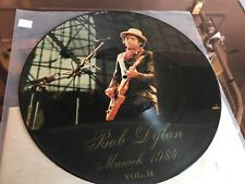 BOB DYLAN - LIVE MUNICH 1984 VOL II- RARE PICTURE DISC