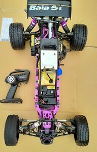 Rare HPI Racing Baja 5b OG 1:5 Scale Gasoline 2wd Buggy DDM 26cc 4bolt ARTR Road