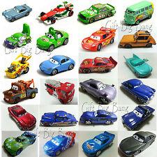 Mattel Disney Pixar Cars McQueen Hudson Mater Fillmore Sally Sarge 1:55 Autos